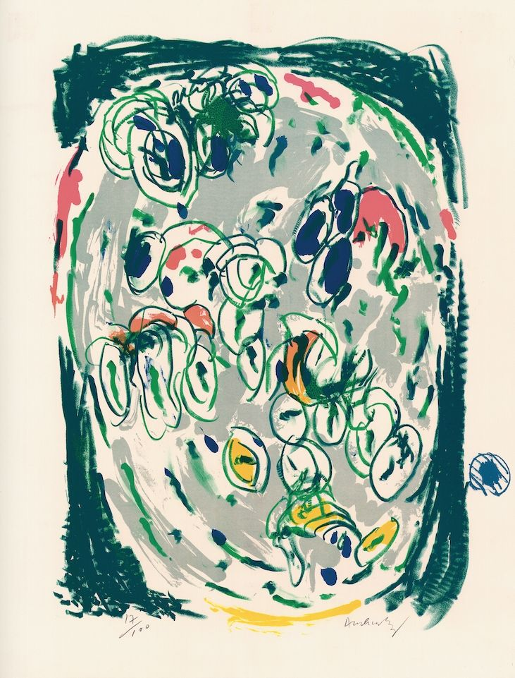 Litografia Alechinsky - Waterzoi