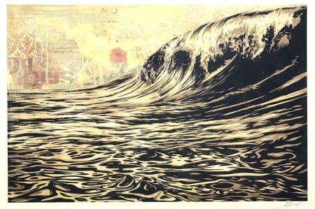 Serigrafia Fairey - Wave