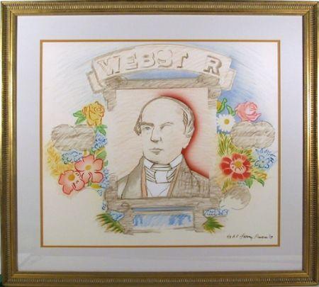 Litografia Rivers - Webster