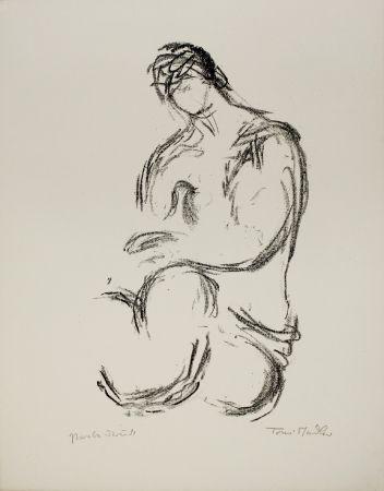 Litografia Stadler - Weiblicher Akt / Female Nude