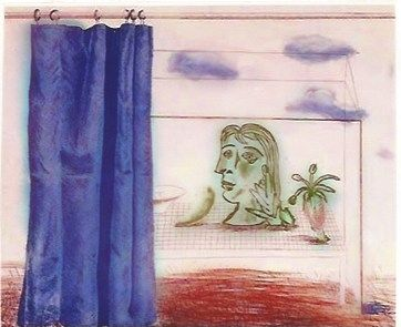 Incisione Hockney - What is this Picasso?