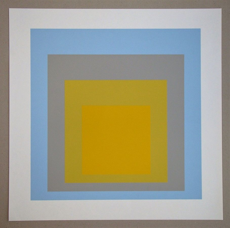 Serigrafia Albers - Wide Light, 1962