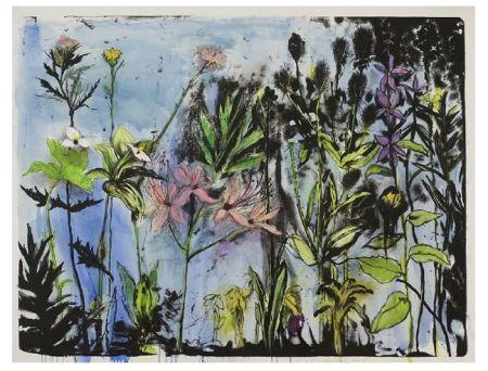 Litografia Dine - Wildflowers in New York I