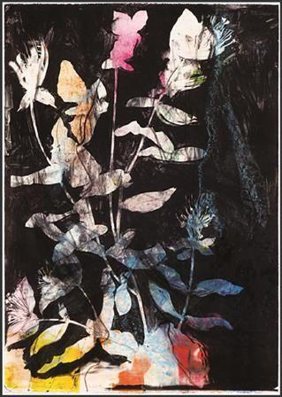 Litografia Dine - Wildflowers in the Night