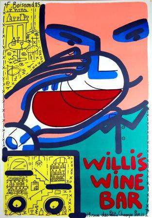 Litografia Boisrond - Willis Wine Bar