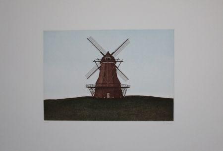 Acquaforte E Acquatinta Moritz - Windmühle