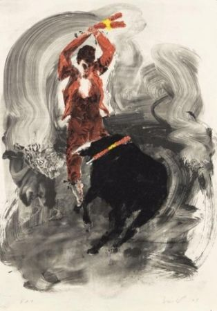 Litografia Fischl - Without title 1