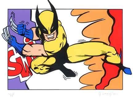 Serigrafia Matos - Wolverine