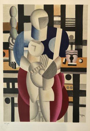 Litografia Leger - Woman and Child (La femme et l'enfant)