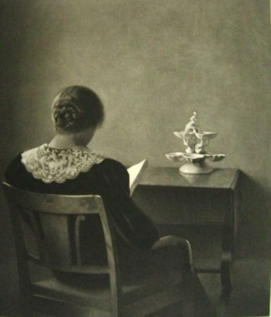 Maniera Nera Ilsted - Woman Reading