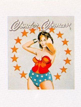 Litografia Ramos - Wonder Woman
