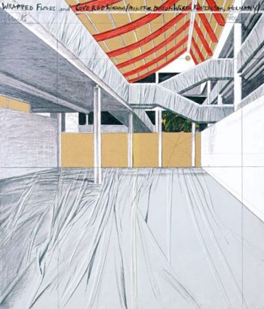 Multiplo Christo - Wrapped Floors And Covered Windows, Museum Würth