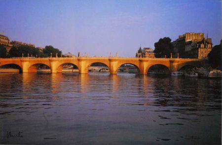 Multiplo Christo - '' Wrapped  Pont Neuf ''