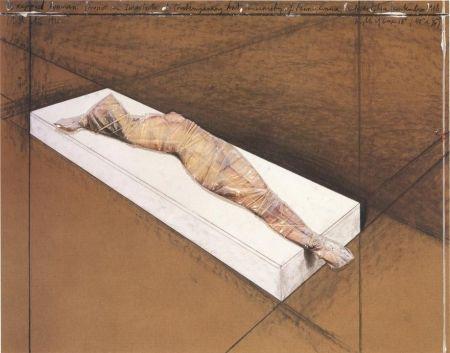 Non Tecnico Christo - Wrapped Woman
