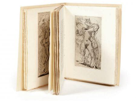 Libro Illustrato Masson - XIMENÈS MALINJOUDE. 6 eaux-fortes d' André Masson (1927).