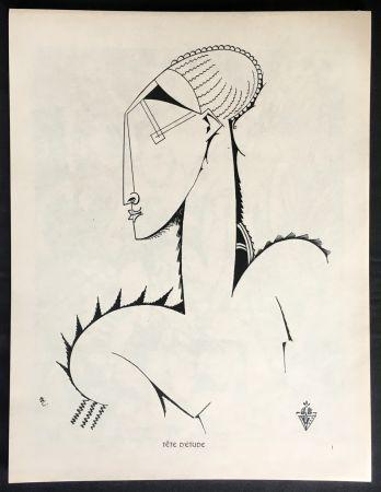 Libro Illustrato De Souza-Cardoso - XX DESSINS. 1912