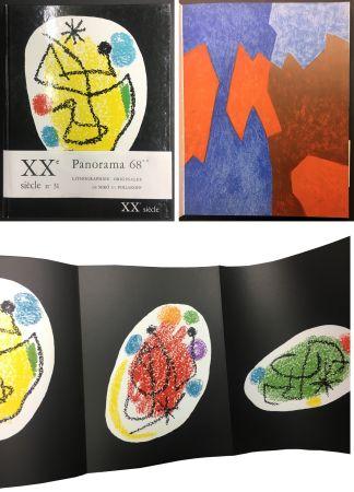 Libro Illustrato Miró - XXe SIECLE. Nouvelle série. XXXe année. N° 31. Décembre 1968 - PANORAMA 68. LES GRANDES EXPOSITIONS