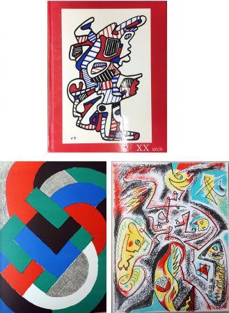 Libro Illustrato Delaunay - XXe SIECLE. Nouvelle série. XXXIe année. N° 32. Juin 1969 (Sonia Delaunay, André Masson)