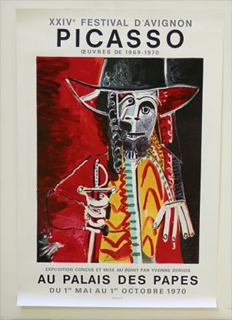 Litografia Picasso - XXIV Festival D'Avignon