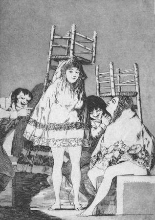 Acquaforte E Acquatinta Goya - Ya tienen asiento