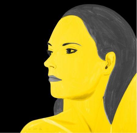 Litografia Katz - Yellow Laura