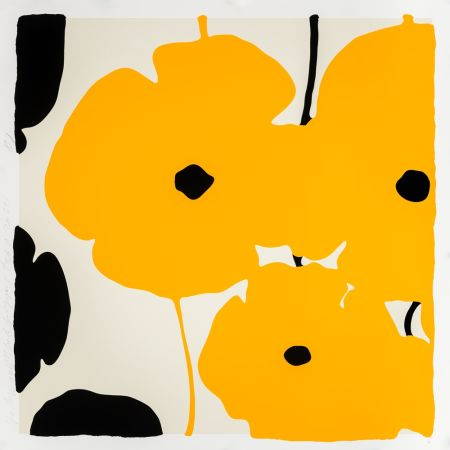 Serigrafia Sultan - Yellow Poppies