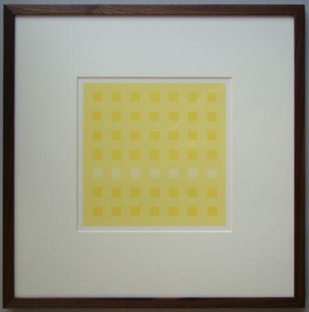 Serigrafia Calderara - Yellow Squares