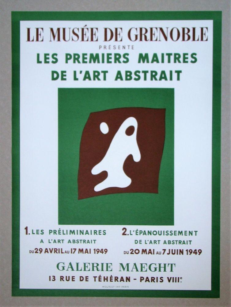 Litografia Arp - Yeux et Nez