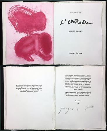 Libro Illustrato Garache - Yves Bonnefoy. L'ORDALIE. Maeght 1975