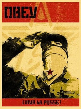 Serigrafia Fairey - Zapatista Print