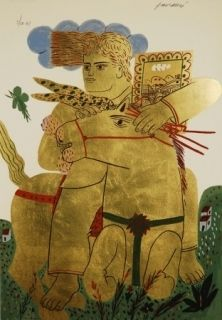 Serigrafia Fassianos - Zeus
