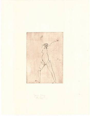 Incisione Beuys - Zirkulationszeit: Mädchen