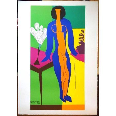 Litografia Matisse - Zulma