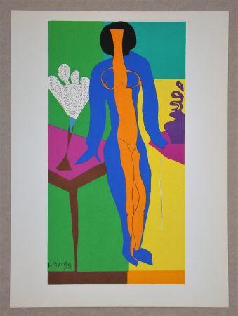 Litografia Matisse (After) - Zulma - 1950