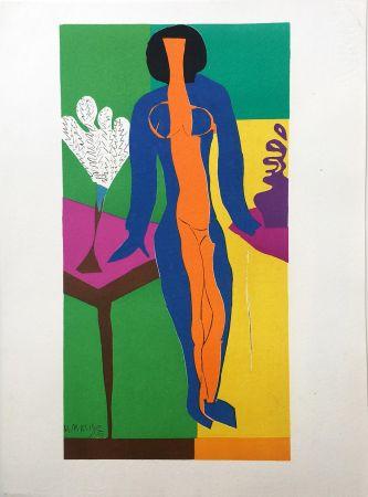 Litografia Matisse - ZULMA (1950)