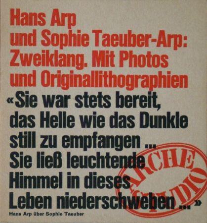 Libro Illustrato Taeuber-Arp - Zweiklang